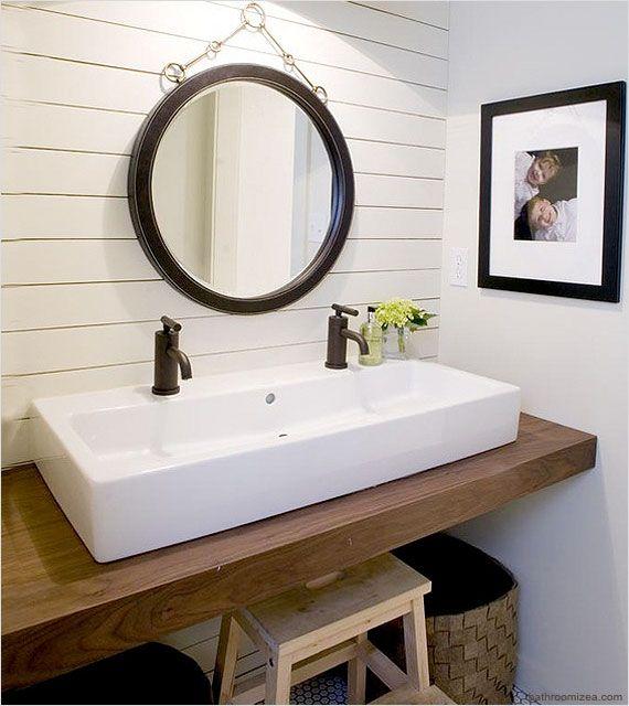 custom cottage bathroom