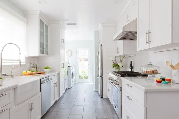 Galley-Kitchen-All-White-Homepolish-Erin-Kane