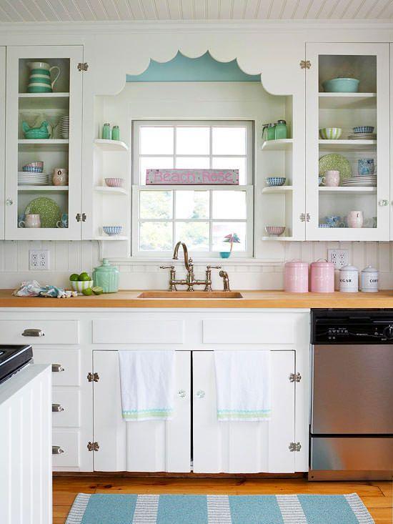 Conseils de rénovation pour la parfaite cuisine vintage - Des armoires de cuisine antiques