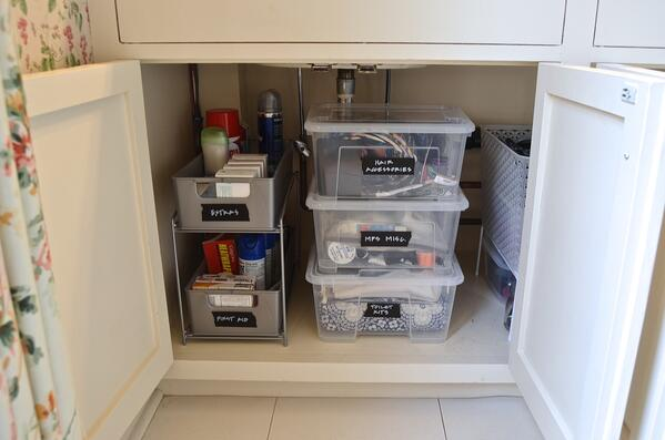 How To Organize Your Messy Bathroom Cabinets