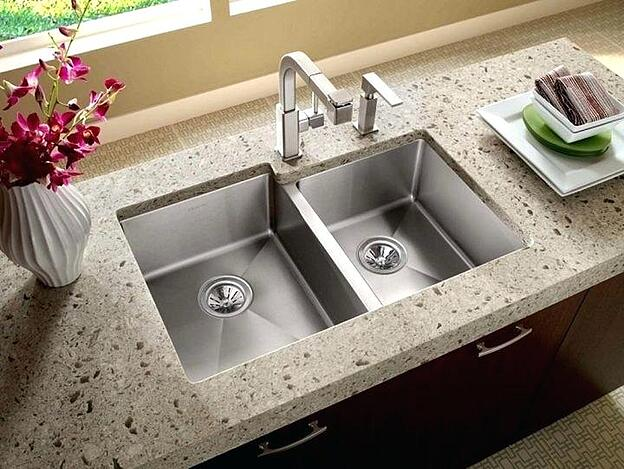 Treat Yourself to One of These 11 Kitchen Luxuries - Double Bowl Kitchen Sink