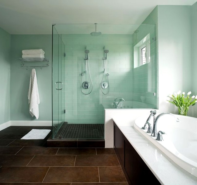Liven Up Your Home With These Bathroom Colours - Green Bathroom