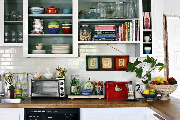 5 Simple Ways to Make Your Small Kitchen Feel Bigger - Reduce Clutter in Your Kitchen