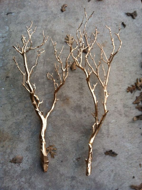metal branches