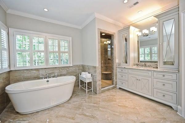 5 Best Bathroom Flooring Materials to Consider - Porcelain Tile