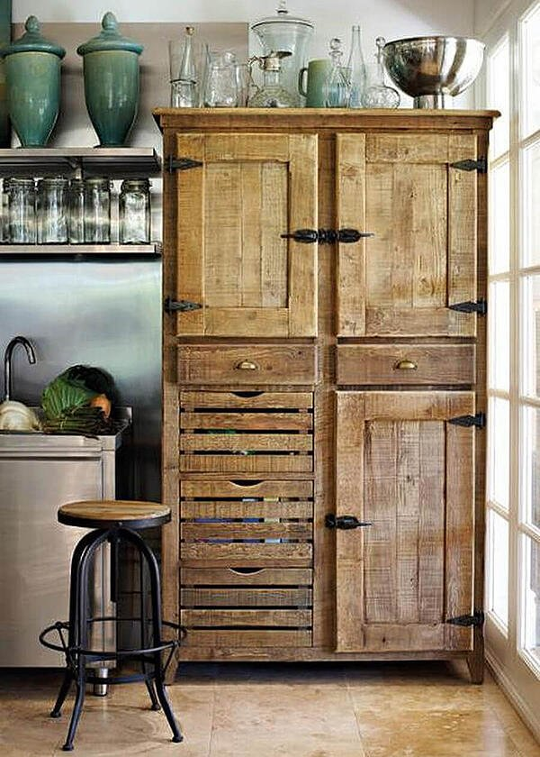 rustic cabinets