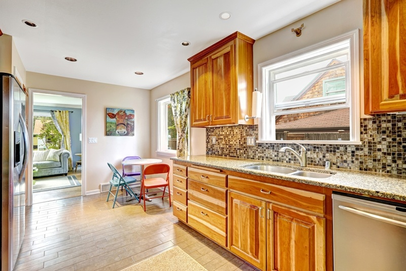 Your plain old kitchen cabinets may be due for a modern update.