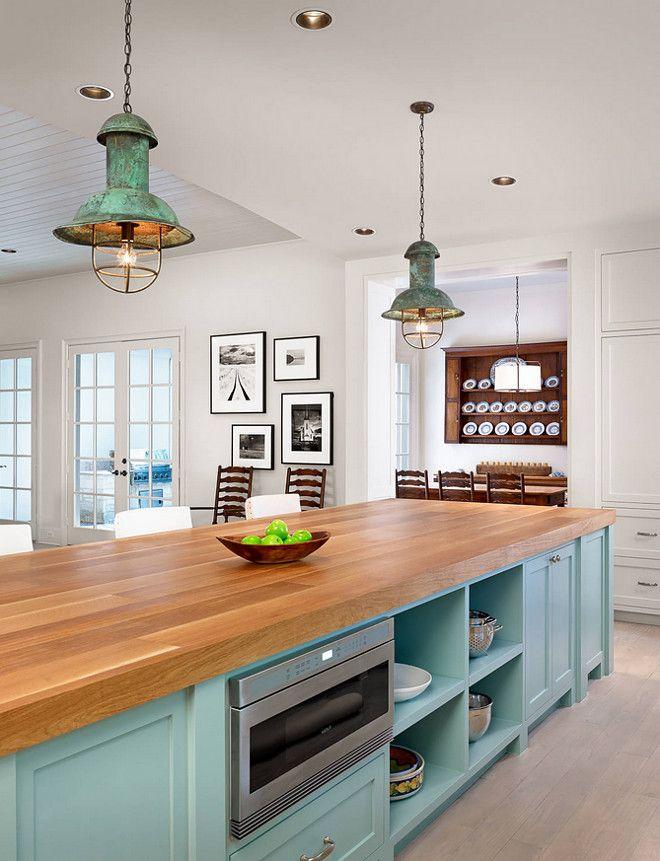 Conseils de rénovation pour la parfaite cuisine vintage - Un éclairage classique
